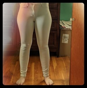 Hollister White Jegging